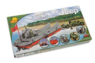 Конструктор «Jeep Willys и высадка десанта». Вид 1