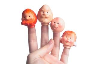 Пальчиковый кукольный театр би-ба-бо
