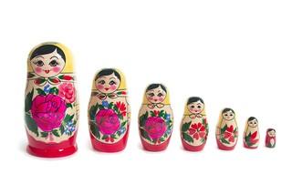 Детская Матрешка 7 кукольная