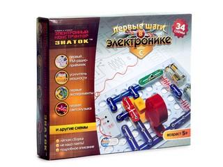 Электронный конструктор 34 схемы. Вид 1