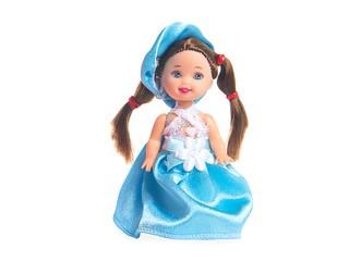 Кукла Танюшка голубая