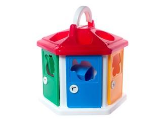 Логический домик в коробке. Вид 3