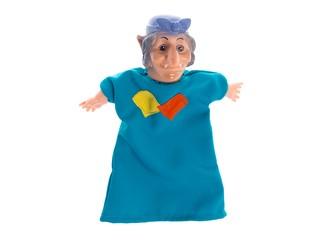 Кукла-перчатка Баба-Яга. Вид 2