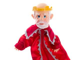 Кукла-перчатка Царь. Вид 3