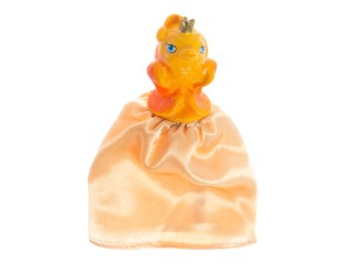 Кукла-перчатка Золотая рыбка. Вид 1