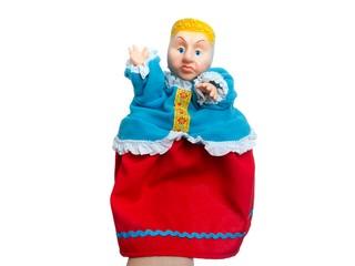 Кукла-перчатка Мачеха. Вид 1