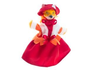Кукла-перчатка Лисица. Вид 1