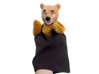 Кукла-перчатка Медведь. Вид 1