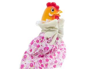 Кукла-перчатка Курочка