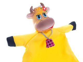 Кукла-перчатка Корова