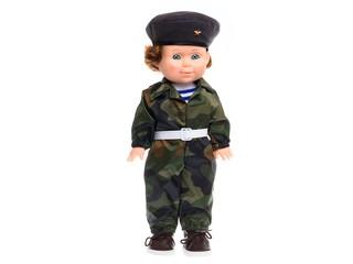 Кукла Митя военный звук. Вид 2