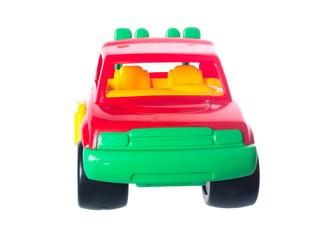 Машинка красный джип