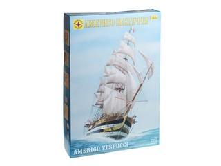 Корабль «Америго Веспуччи». Вид 1