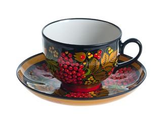 Чашка и блюдце чайное