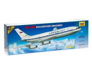 Пассажирский авиалайнер ИЛ-86