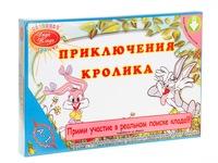 """Детская настольная игра """"Приключения кролика"""""""