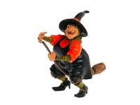 Ведьма на метле. Вид 1