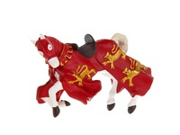 Конь короля Ричарда красный