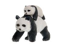 Панда с детенышем. Вид 1