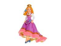 Принцесса с цветами. Вид 1