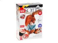 Набор для изготовления мягкой игрушки Плюшевое сердце SoftToy Заяц Касси