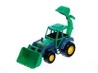 Трактор-экскаватор мастер. Вид 1