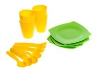 Посуда 4 персоны. Вид 1