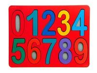 Рамки-вкладыши цифры макси. Вид 1
