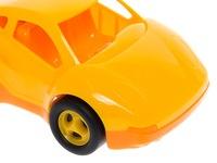 Машинка желтая