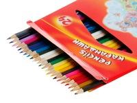 Карандаши цветные 24 цв мультики гамма