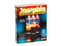 Гелевые свечи с морскими раковинами №1