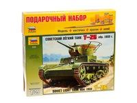 Пн танк т-26. Вид 1