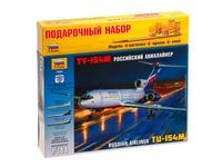 Самолет ту-154м. Вид 2