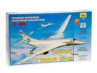 Самолет ту-160. Вид 2