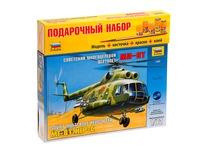 Советский многоцелевой вертолет ми-8т. Вид 2