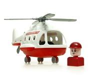Вертолет МЧС. Вид 1