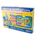 Музыкальная игрушка Азбукварик Музыкальный коврик Веселая ферма