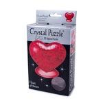 3D Головоломка Crystal Puzzle Сердце красное