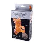 3D Головоломка Crystal Puzzle Мишка янтарный
