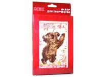 Выжигание в рамке (Медведь). Вид 1