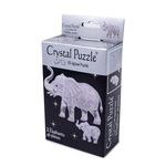 3D Головоломка Crystal Puzzle Два слона
