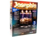 Гелевые свечи с коллекционными морскими раковинами Набор №3 (Josephine)