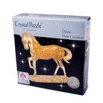 3D головоломка Crystal Puzzle Золотая лошадь