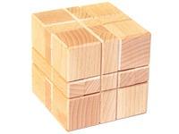 Куб из 4 элементов большой. Вид 1
