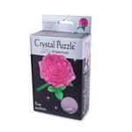 3D головоломка Crystal Puzzle Роза розовая