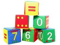 Кубики-мякиши Умная Математика. Вид 1