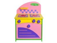 Кукольная мебель Газовая плита. Вид 2