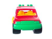 Машинка красный джип. Вид 4