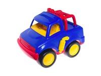 Машинка синий джип