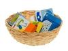 Детская корзинка с продуктами. Вид 1